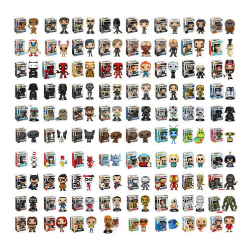 TV PLUS MORE FUNKO POP STAR WARS PICK YOUR POP HEROES FILM VINYL FIGURES