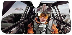Star Wars Luke Sunshade Windshield Wind Shield Sun Shade Visor Car ... b1e33093cd8