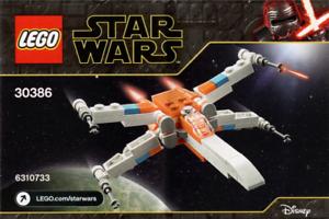 BNIP New 2020 Polybag LEGO Star Wars 30386 Poe Dameron/'s X-wing Fighter