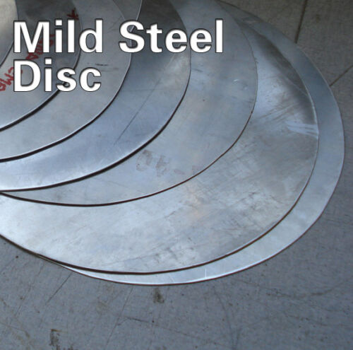 circle 3mm Mild steel disc plate sheet blank custom sizes round