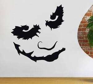 Joker Batman Dark Knight Decal Wall Sticker Art Home Decor
