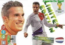 LIMITED VAN PERSIE # NETHERLANDS PANINI CARD ADRENALYN WORLD CUP BRAZIL 2014