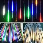 Sternschnuppen LED Lichterkette Sterne Weihnachtslicht Eiszapfen Bunt Warmweiß