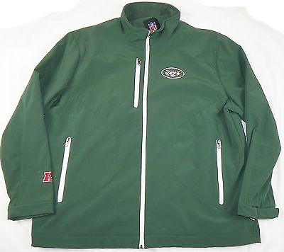 New York Jets Jacket Men's NFL Overtime Softshell Football Coat