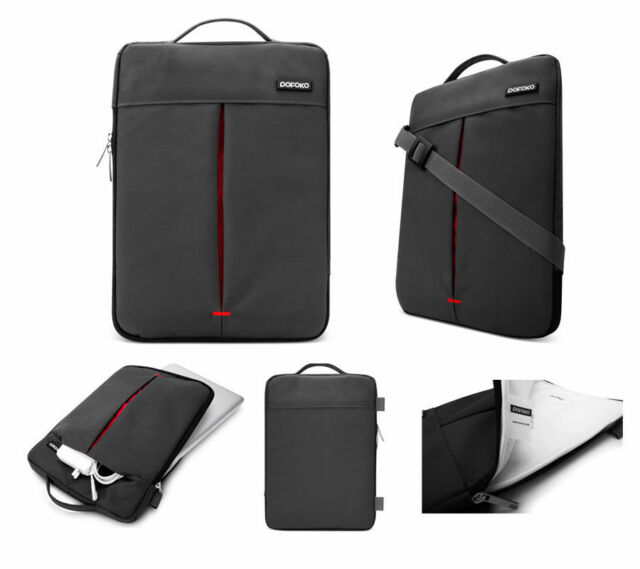 "Pofoko Notebook Laptop Shoulder Carry Bag Case 9.7 11 12 13 15"" Apple Macbook"