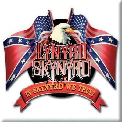 Inteligente Lynyrd Skynyrd Fridge Magnet Calamita Eagle Logo Official Merchandise