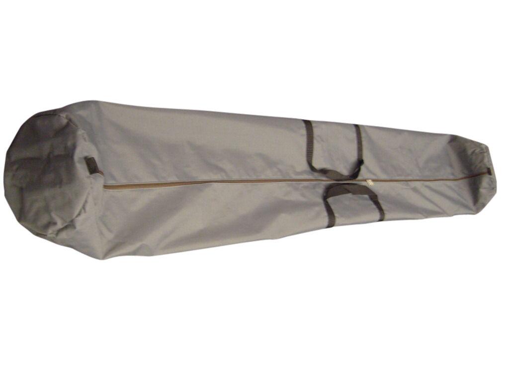 Bolsa de dosel, camping o bolsa de almacenamiento de 7' 10  de largo, Comercio mostrar Polo bolsa hecha en Estados Unidos.