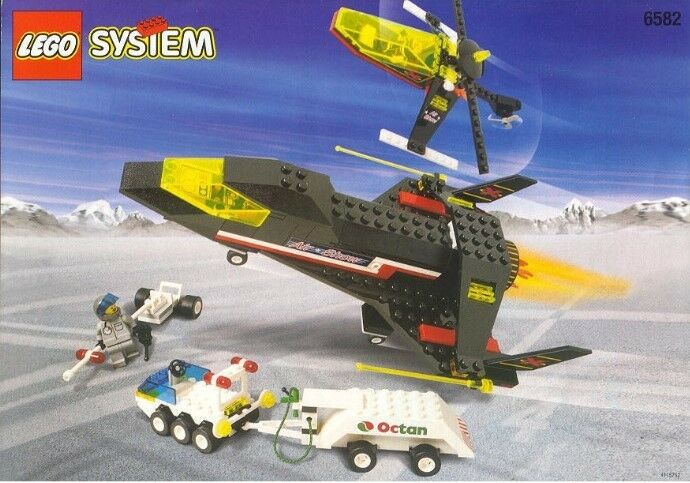 Lego Town Extreme Team 6582 Darotevil Flight Squad  New SEALED Octan Helicopter