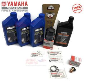 YAMAHA F50 Outboard Oil Change Kit Gear Lube Thermostat 10W30 LUB-MRNSM-KT-10