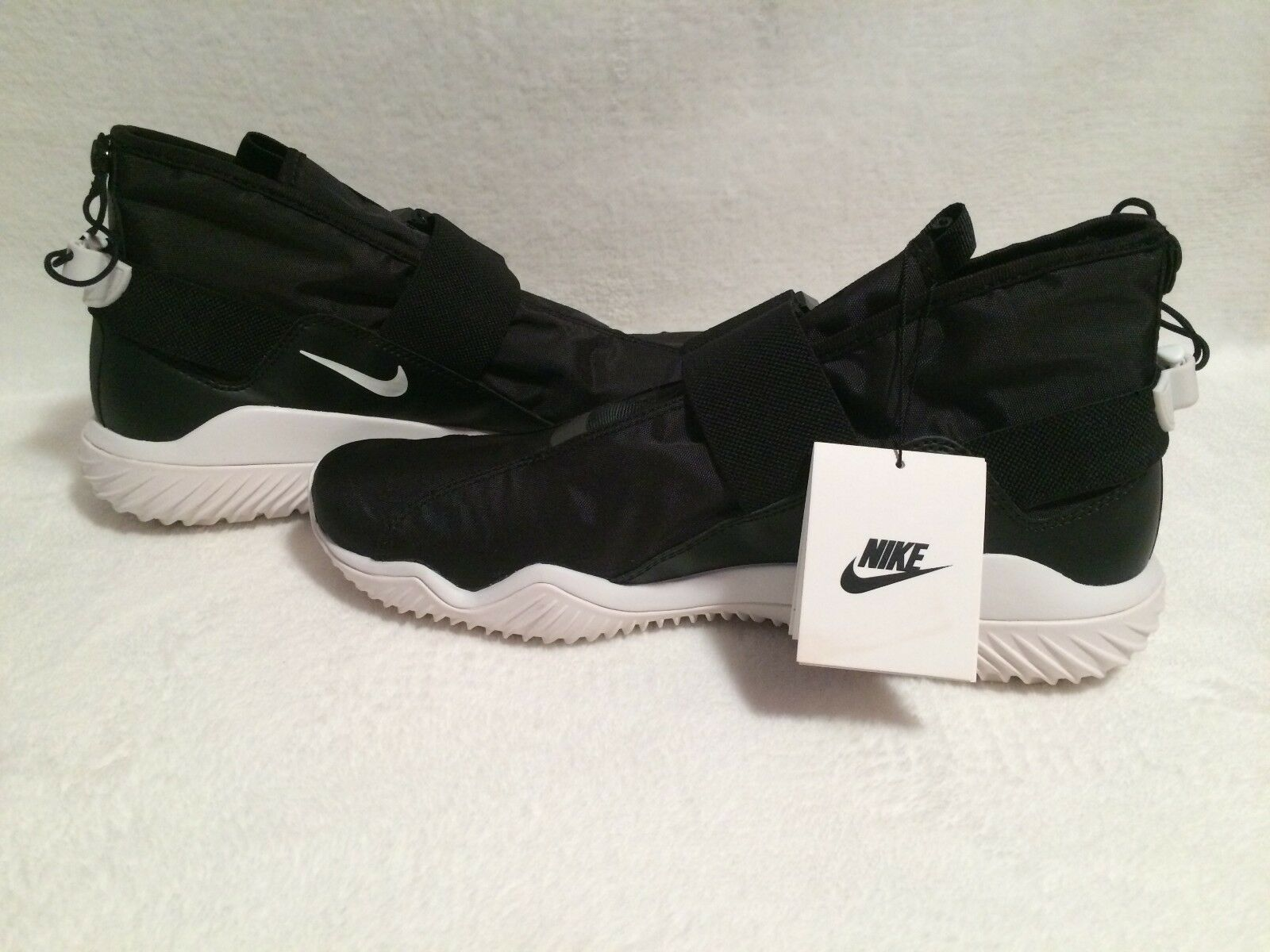 Nike air huarache nuovi all-grey [318429-033. noi uomini sz