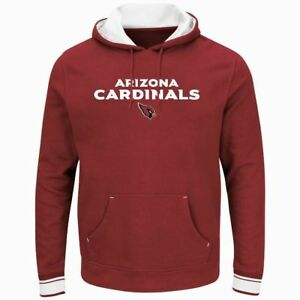Image is loading Arizona-Cardinals-Championship-Pullover-Hoodie -Red-Plus-Sizes-