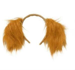 Short Floppy Dog Ears Headband Adults Or Childrens Fancy Dress Party Prop Animal