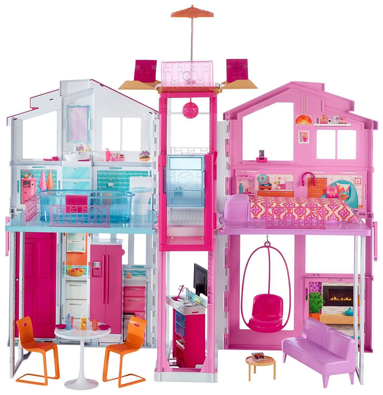 Mattel Barbie DLY32 3 Etagen Stadthaus - NEU OVP
