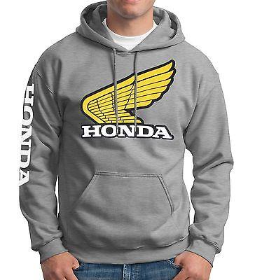 Honda Classic Sweatshirt Hoody Zipper Zip-up vintage Retro Elsinore XR75 MR50