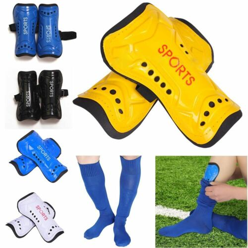 1Pair Kids Adults Football Soccer Shin Pads Shin Guards Light Soft Foam Protecta