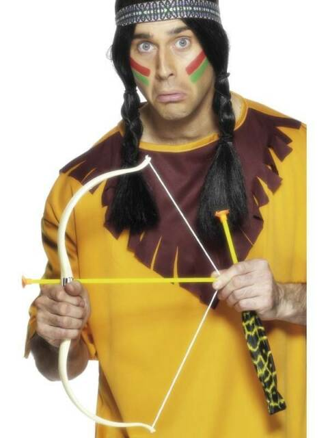 Indian Bow and Arrow Set, Cowboys and Indians Fancy Dress/Cosplay #CA