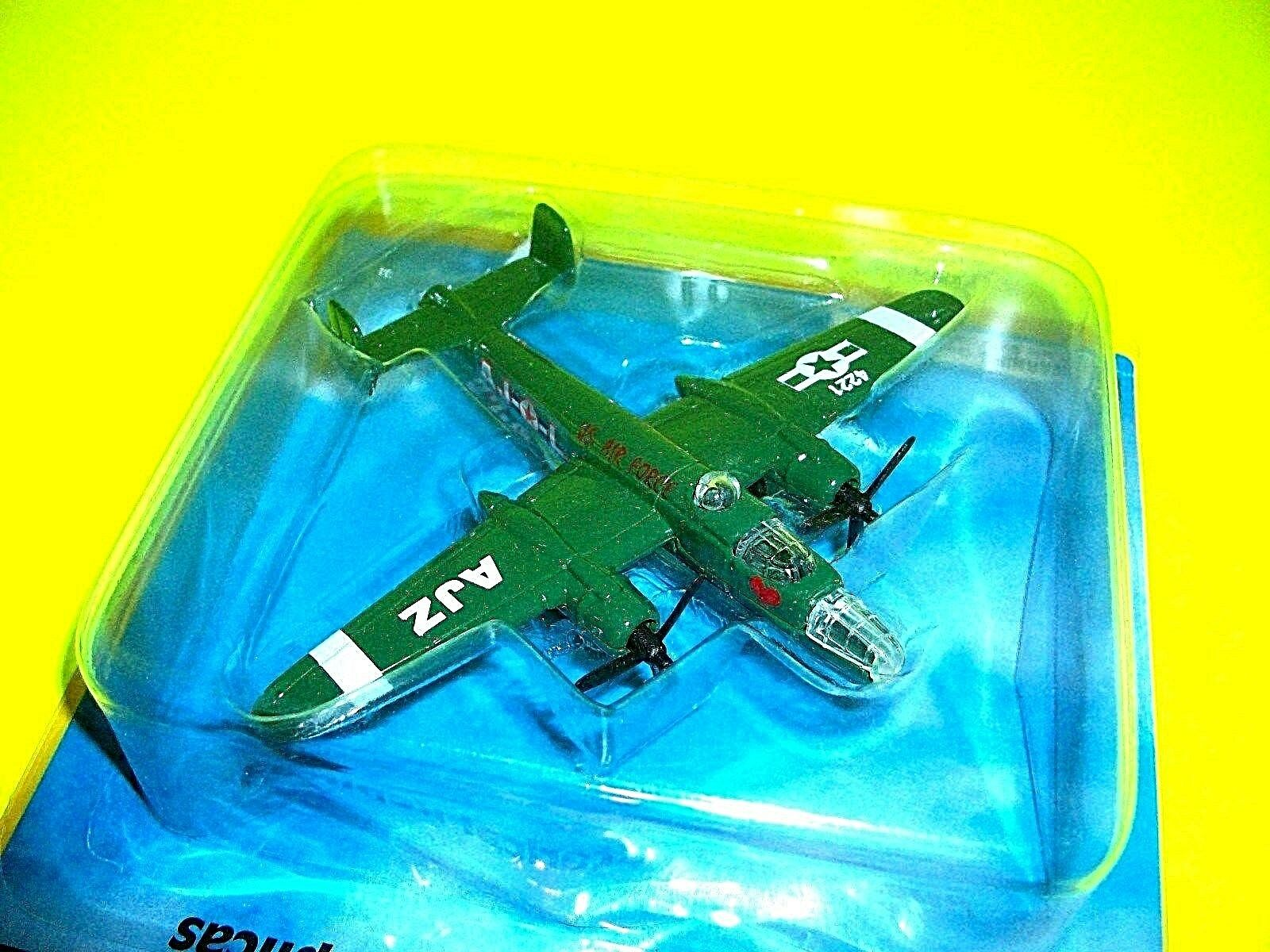 MEGA MASTERS Die Cast  B-25J AJZ Green Plane Airplane Airplane Airplane Toy Air Craft Mega Toys 599a97