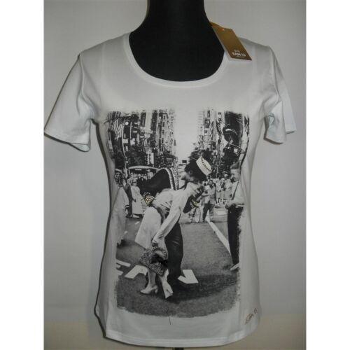 13 Ean shirt Bianco T Swarovski Donna Maglia 57RPwP