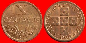 10-CENTAVOS-1968-SIN-CIRCULAR-PORTUGAL-0134SC