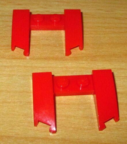 11291 Lego Basic 2x Wedge Schräg Platte 3x4x2//3 in Rot