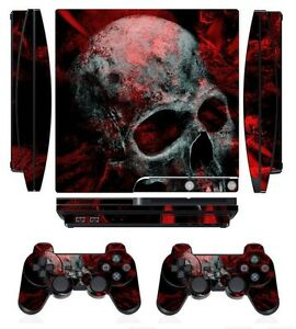 Skull 251 Vinyl Decal Cover Skin Sticker For Xbox360 Console Grade Products According To Quality Faceplates, Decals & Stickers Video Games & Consoles
