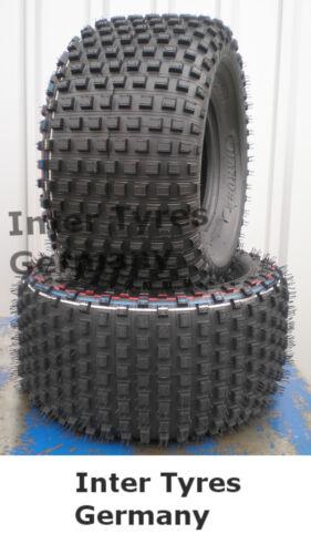 2x 22x11-8 P323 22x11.00-8 HAKUBA ATV Quad Geländereifen NEU