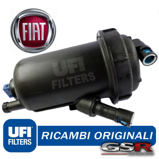 FILTRO GASOLIO COMPLETO per FIAT CROMA 194 1.9 MULTIJET 88 110 KW UFI 55.139.00