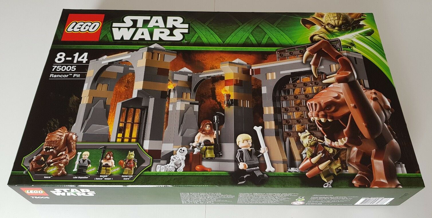 LEGO STAR WARS Rancor Pit (75005) NEU - VERSIEGELT - MISB - FÜR SAMMLER