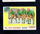 1955 Topps All-American # 68 The Four Horsemen Vg-Ex