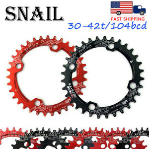 30-42t-104bcd-MTB-Road-BMX-Bike-Narrow-Wide-Single-Chainring-Chainset-Sprockets