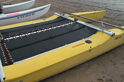 Black Mesh Prindle 16 W// Ports Catamaran Trampoline
