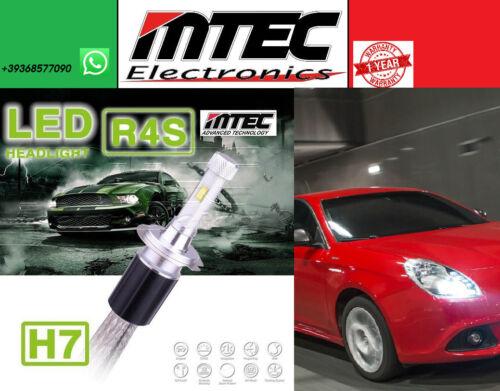 KIT MTEC H7 6000K LED 10400LM //// ALFA ROMEO GIULIETTA //// PRONTO AL MONTAGGIO ////