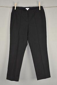 J-Jill-Women-039-s-Black-Slim-Leg-Cropped-Pants-Front-Seam-0-Petite