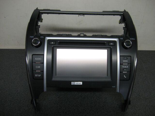 14 Toyota Camry Radio Knob Set 100201 86140-06190 Asc43