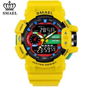SMAEL-SPORT-WATCH-hommes-marque-Numerique-Montre-bracelet-DEL-Electronic-male-montres