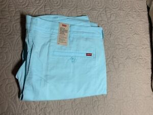 Levi's Standard Taper XX Chino Short Clearwater Stretch Twill Men's Size 42 NWTs
