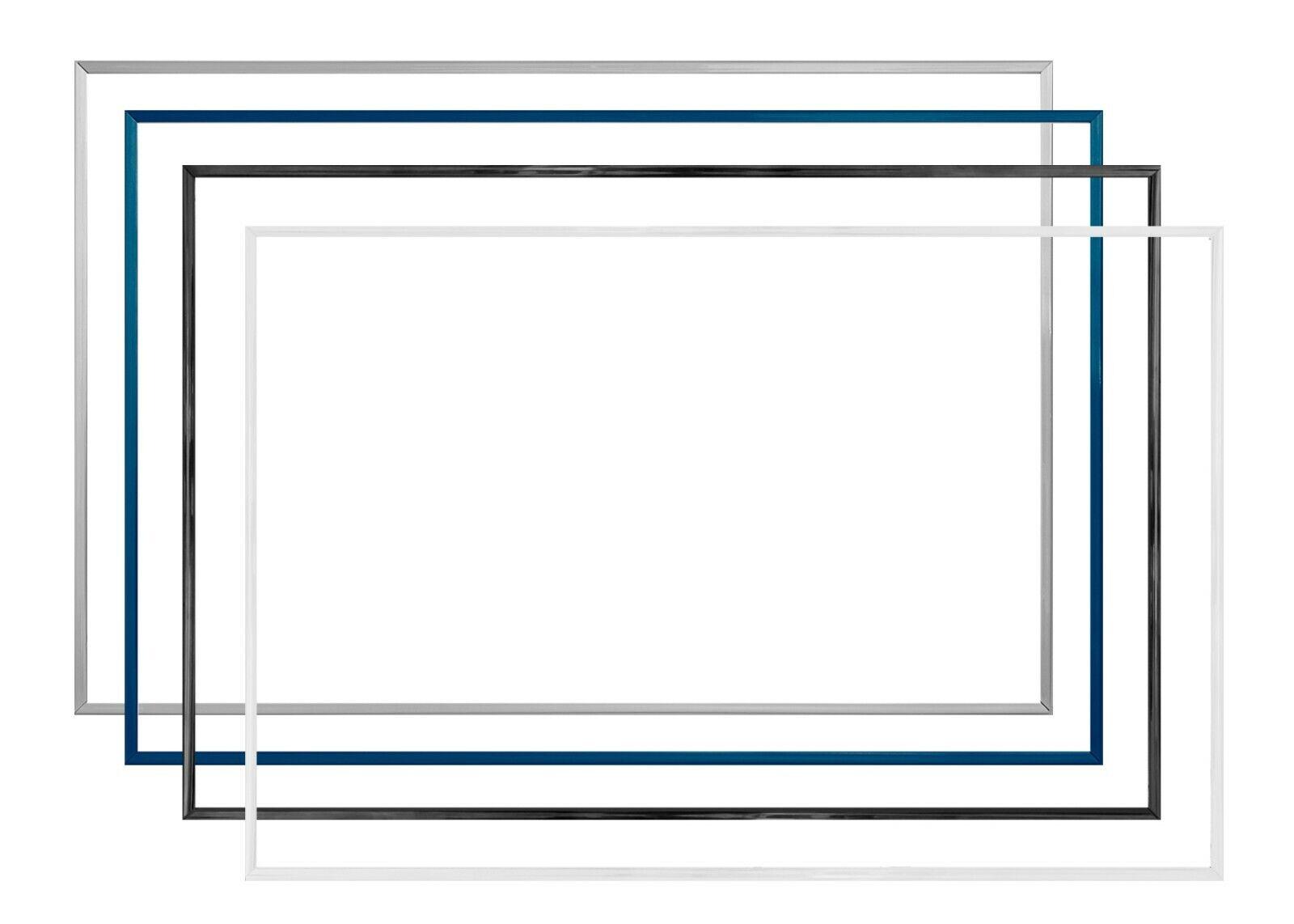 Komplette Kunststoff-Bilderrahmen TEXAS 30 x 70 cm mit Paket-Sonderpreisen