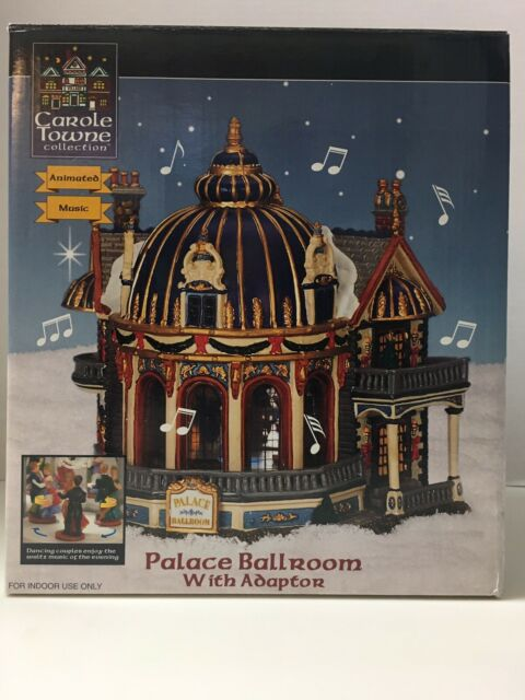 Lemax Palace Ballroom 2003 Carole Towne Collection Musical Animated Lighted Boxd | eBay