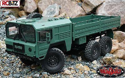 Rc4wd Beast Ii 6x6 Camion Militare Rtr Verde Z-rtr0028 Assemblato Muli Asse Rc Buona Conservazione Del Calore