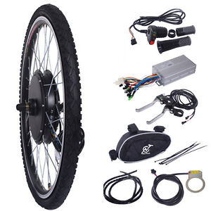 48v 1000w ebike front wheel electric bicycle motor. Black Bedroom Furniture Sets. Home Design Ideas