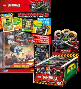 LEGO Ninjago - Serie 3 Trading Cards - 1 Display + 1 Starter - Deutsch