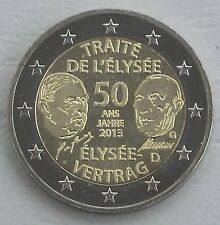 2 Euro Deutschland G 2013 Élysée-Vertrag unz