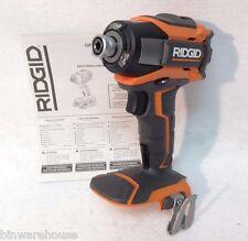 RIDGID 18v 3 SPEED IMPACT DRIVER R86035 - Bare Tool