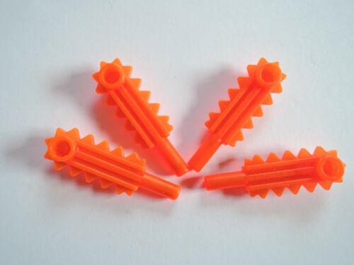 neon orange 6705 6973 6983 Lego 4 x Kettensäge Sägeblatt Schwert 6117 transp