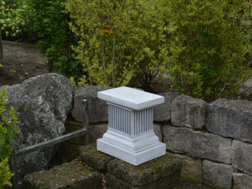 Pilastro scultura pietra in ghisa NUOVO gelo fisso pietra personaggio Socket pianerottolo po-148