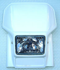 NEU Lampenmaske für BMW , KTM usw. Enduro Sportumbauten ähnlich Acerbis