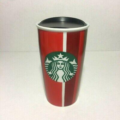 2018 Mug Starbucks Holiday Ceramic Tumbler Christmas Striped Coffee CupEbay Travel bf7gyY6