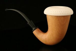 Calabash-Sherlock-Style-Hand-Made-Block-Meerschaum-Mahogany-in-a-fit-case-0007