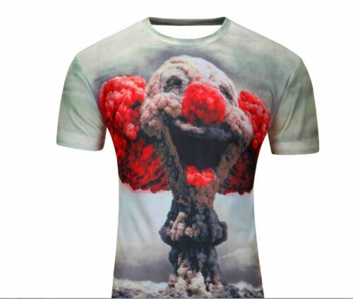 Fashion Men Women 3D Graphing T Shirt Top Short Sleeve Casual Tee Cat USA Seller