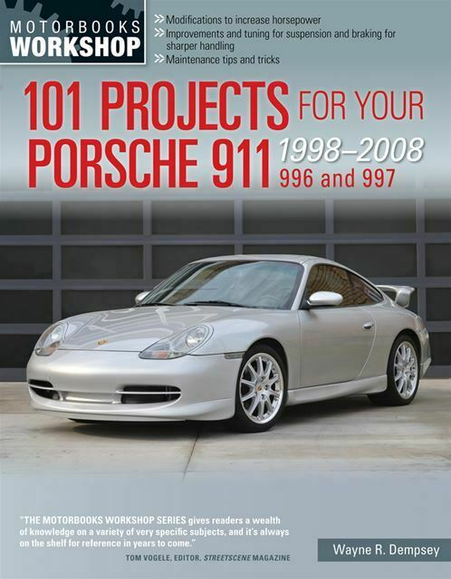 Porsche 911 Shop Service Repair 101 Projects Manual 996 997 1998-2008 Book